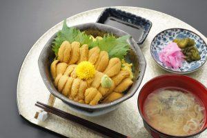 今週のイチ丼「食楽 しお彩」のキラキラうに丼!