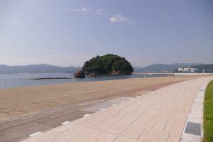 さんさん商店街から車で5分!『サンオーレ袖浜海水浴場』7年振りにオープン!