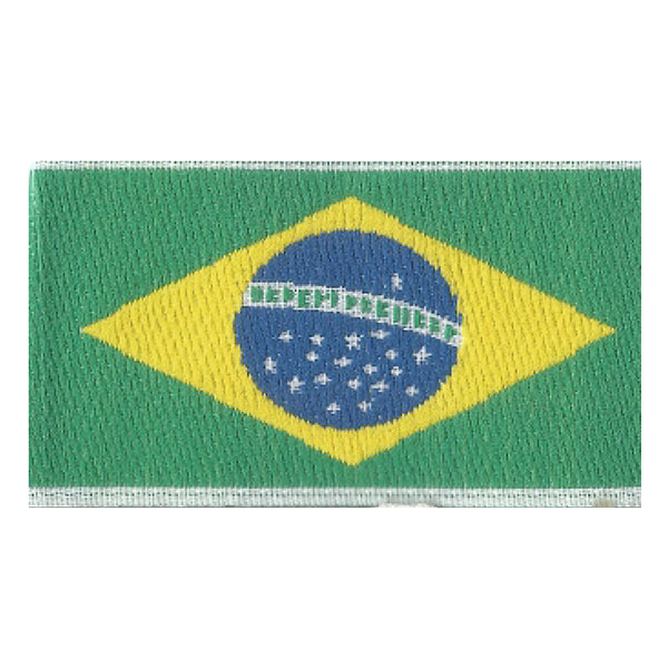 Etiqueta Bandeira do Brasil Pequena | Sansil
