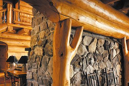 Log Homes Interior Finishes The Sansin Corporation