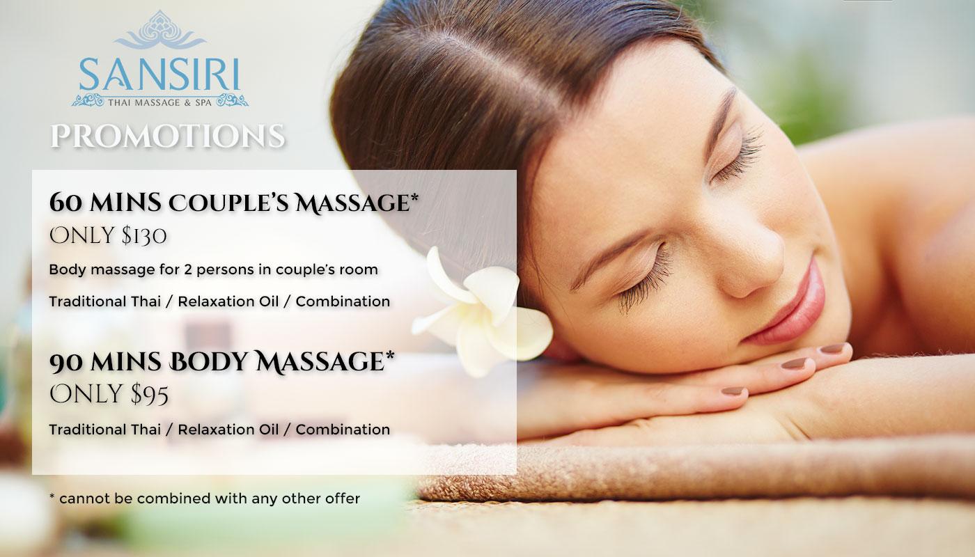 special sansiri thai massage spa in port melbourne. Black Bedroom Furniture Sets. Home Design Ideas