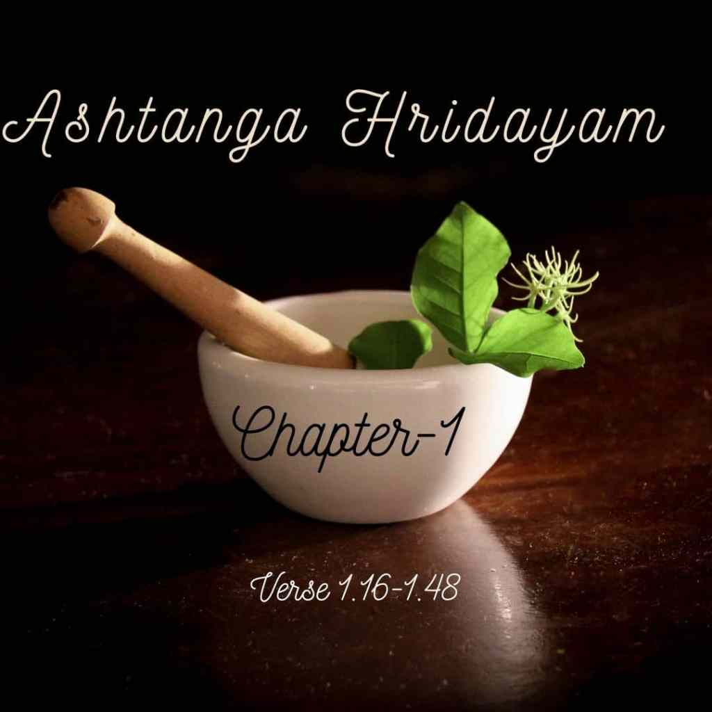 ashtanga hridayam, ayurveda, chapter-1