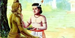 Ekalavya, Self Learned Kid, #A to Z Challenge, #BlogChatterA2Z, #AtoZ2019, #A2Z2019, shravmusingswrites, Indian Mythology