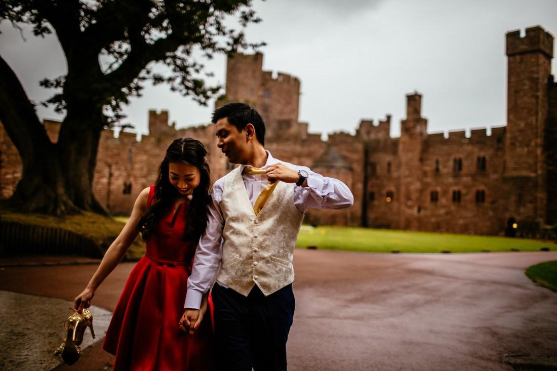 Sonia & Vincent - Sansom Photography Peckforton Castle Wedding Photography-15