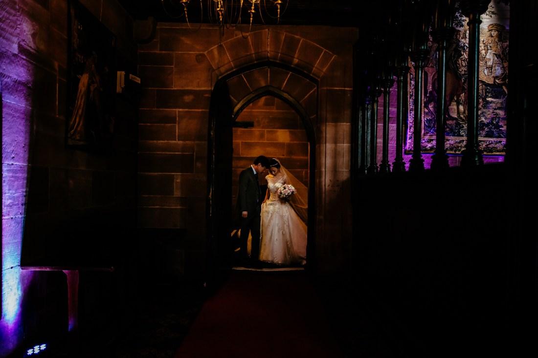 Sonia & Vincent - Sansom Photography Peckforton Castle Wedding Photography-22
