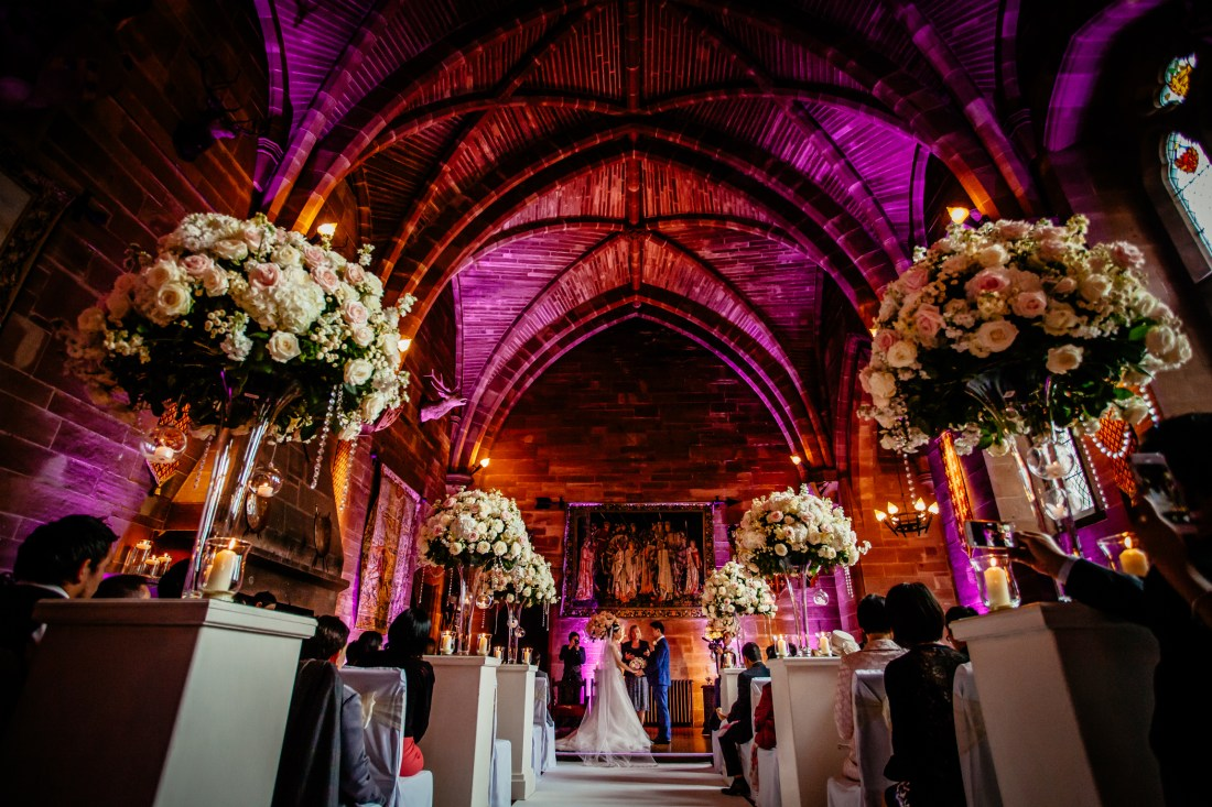 Sonia & Vincent - Sansom Photography Peckforton Castle Wedding Photography-24