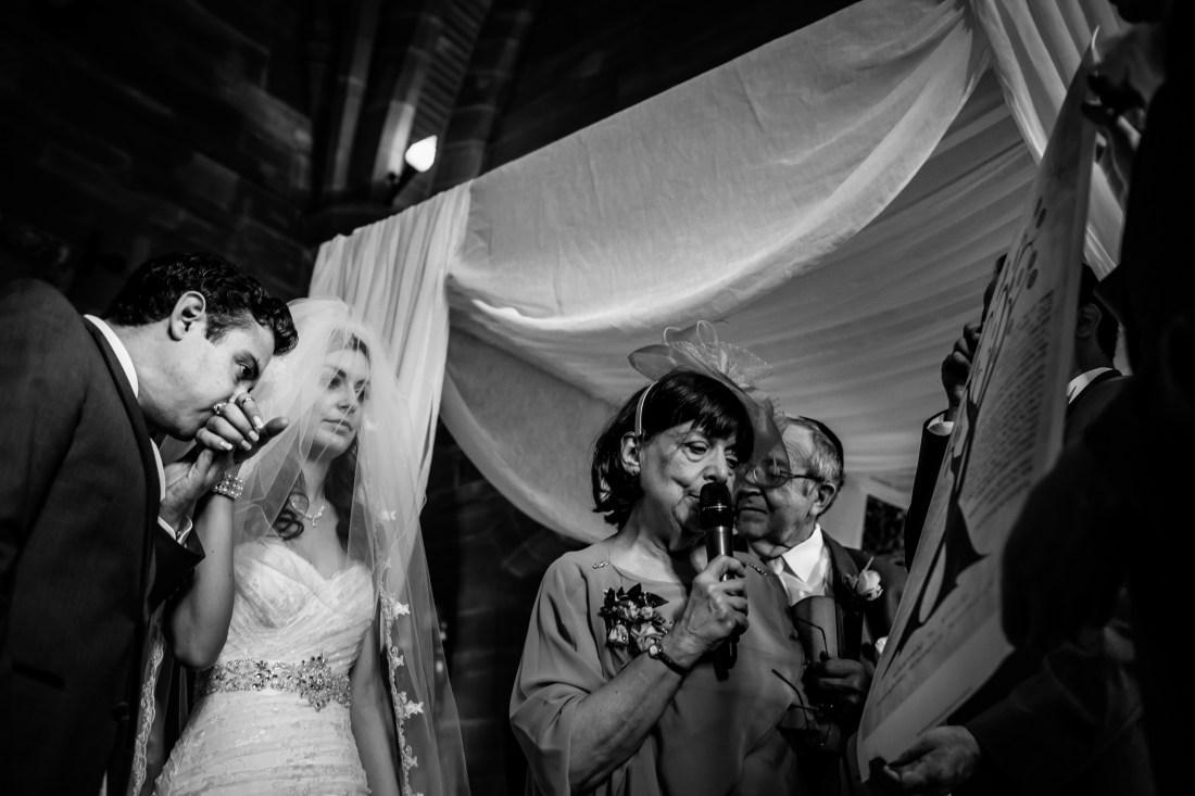 Emma & Alex Peckforton castle wedding - Sansom Photography-20