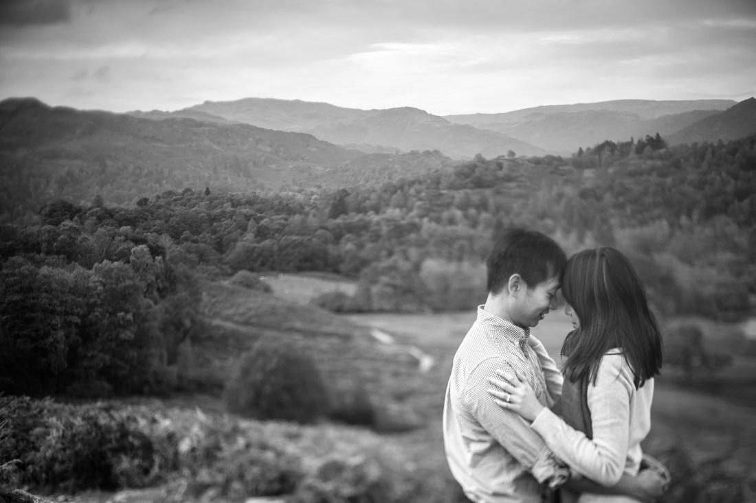Jadlyn & Moses Lake District Engagemenet shoot Sansom Photography-17