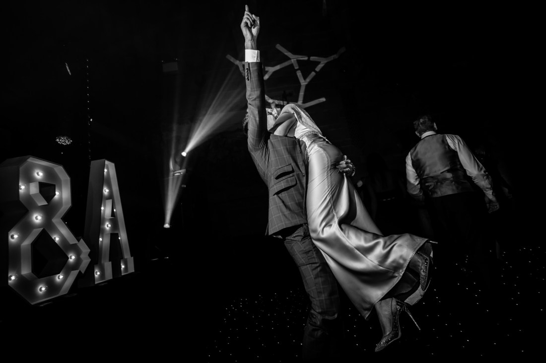 Ant & Louise NYE Peckforton Castle Wedding- Sansom Photography-105