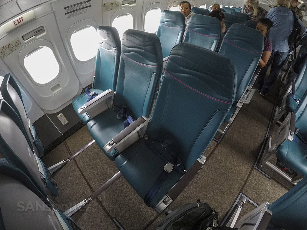 Hawaiian Airlines Seat Map 717