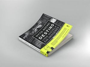 libro con faja promocional