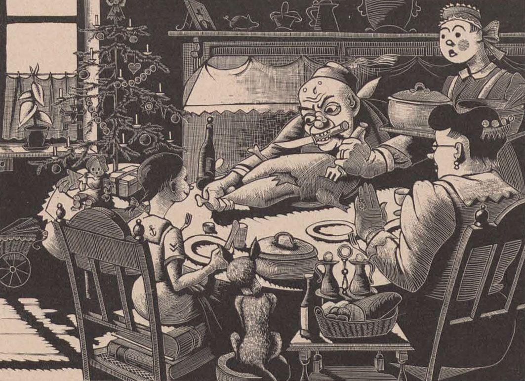 (1933) Die zähe Silvestergans