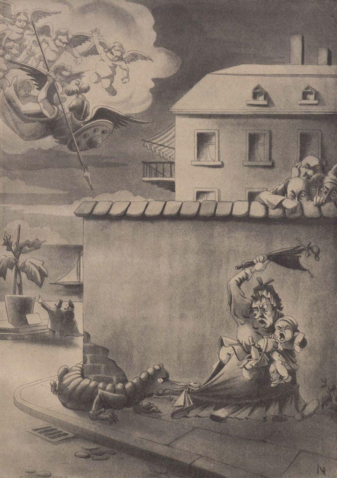 (1942) Lucha de dragones