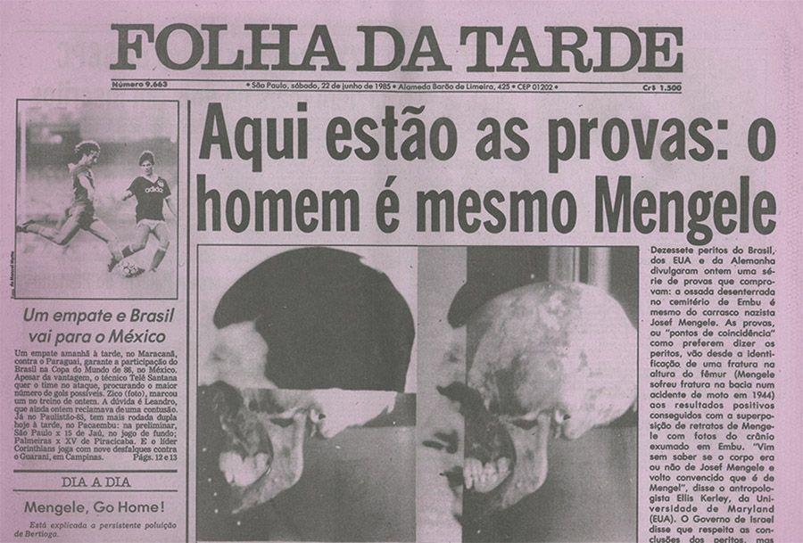 La calavera de Mengele – Prólogo de Francisco Ferrándiz