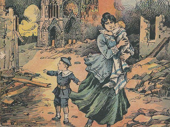 Ruinas, iconoclasia y patrimonio: la destrucción de la catedral de Reims