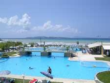 San Stefanos Corfu (Agios Stefanos) - local swimming pool ...