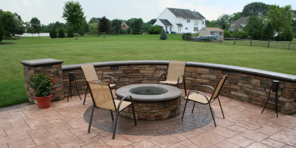 sanstone creations stamped concrete masonry contractor in nj