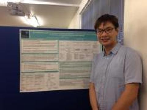 Jack Pun, DPhil Education 2013-16 and Swire Scholar at St Antony's - postgraduate conference, Department of Education, University of Oxford MT14