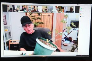Read more about the article July 2020 – Last Month: Azalea Workshop Via Zoom With Glenn Griffen