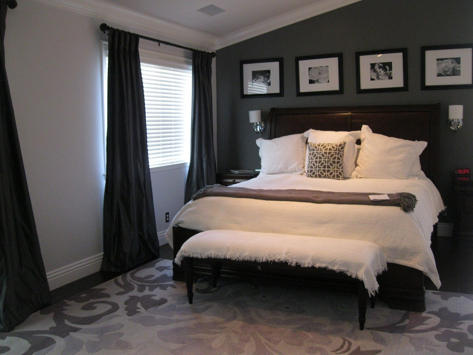 Pin Scott Mclaughlin On Home Decor Bedroom Pinterest in 10 Dark Grey Bedroom Ideas  Awesome as well as Interesting