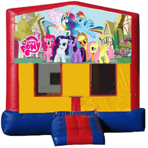 my little pony jump house