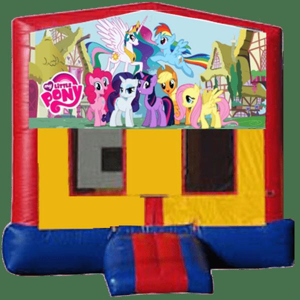 my little pony jump house
