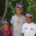 Three Salvadoran boys