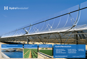 WaterFx is using DPO crowdfunding to finance construction of a state-of-the-art, solar-powered desalination plant. (Credit: WaterFx / HydroRevolution)