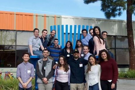 Gesher Group on their recent Google tour. (Credit: Chip Hayashi)