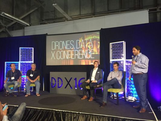 Drones Data X Conference Flys High in San Francisco