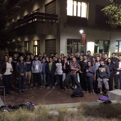 UCSC IEEE students, shown here in Fall 2015, are now planning their Technology of Today and Tomorrow Student Conference, to be held October 8, 2016. Credit: Leya Breanna Baltaxe)