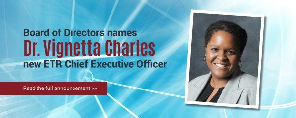 ETR names Dr. Vignetta Charles as next CEO