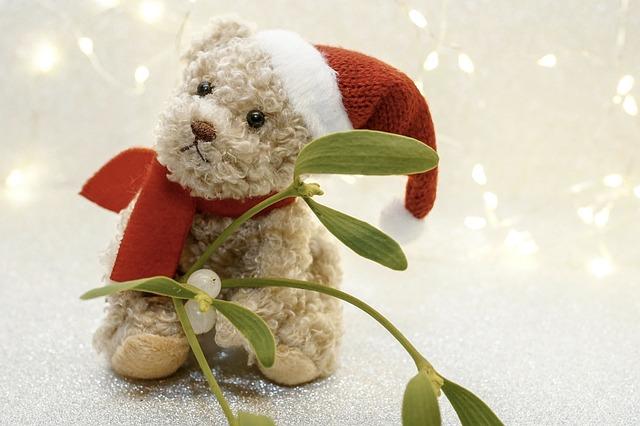 history of Mistletoe and Santa Claus
