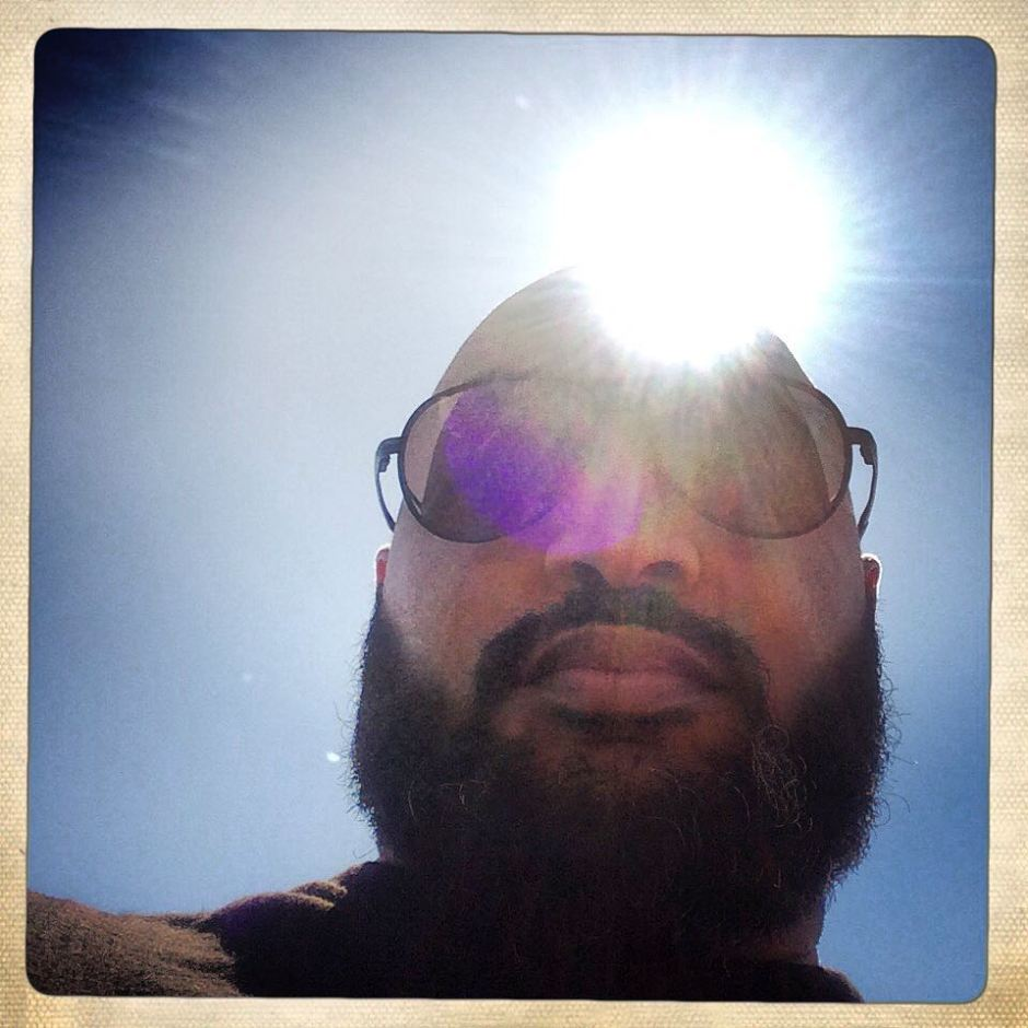 The legend of Sun-Man continues... #latergram #MV #letsseewhogetsthatreference