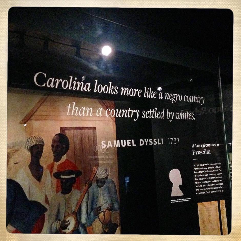 Goin' to Carolina in my mind. #apeoplesjourney #nmaahc #latergram