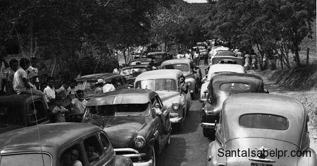 Caravana en 1953