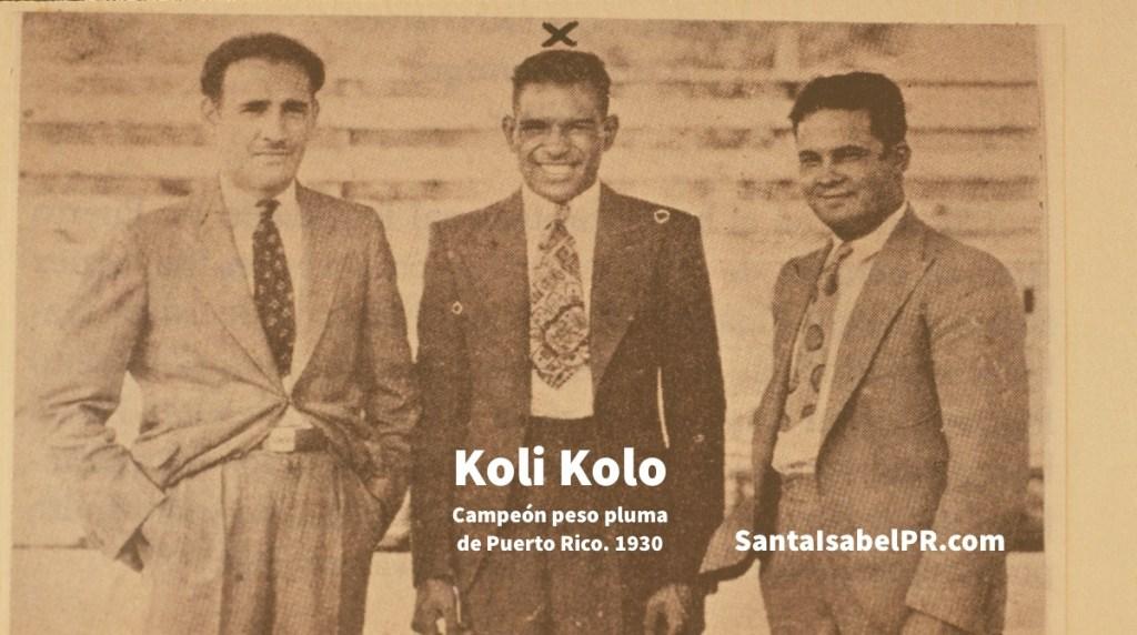 Koli Kolo aproximadamente 1931