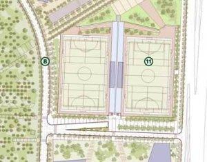Plano de campo de futbol