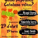 Xerrada-Debat: Quina República Catalana volem?