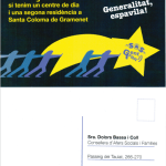 La Plataforma SOS Gent Gran, vam mantenir amb tots grups parlamentaris del Parlament de Catalunya