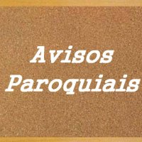 AVISOS PAROQUIAIS (09 e 10 de dezembro)