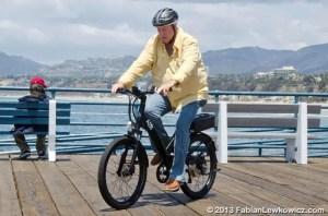 Brock on Bike