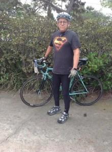 Jon Mann on Bike