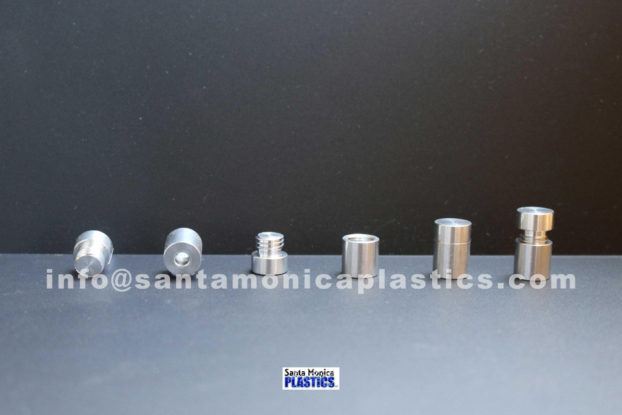 "Aluminum Standoffs #1 Size 0.5"" X 0.75"" (4 Pieces)"