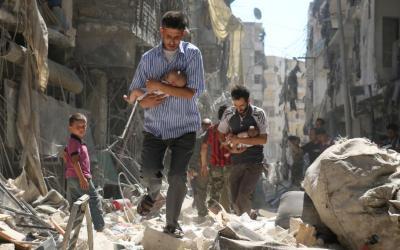 A Guerra na Síria