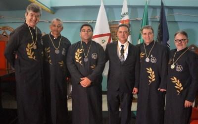 Dr. Alessandro Carvalho toma posse na academia maçônica de letras na publicação do seu artigo