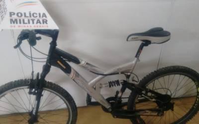 PM recupera bicicleta furtada e prende autor por receptação