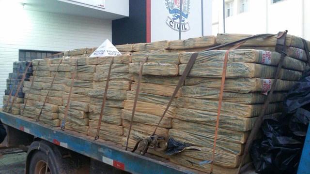 Homem detido com mais de seis toneladas de maconha em 2015 é preso nesta semana