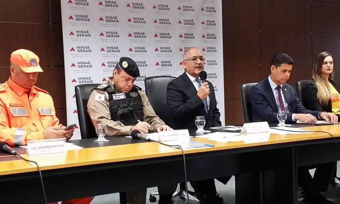 Governo aponta redução em 11 crimes violentos em Minas