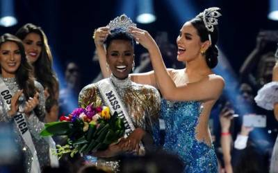 Sul-africana é coroada Miss Universo de 2019